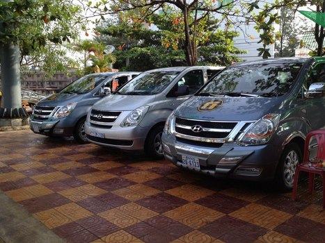 Standard kampot express van rental cover photo